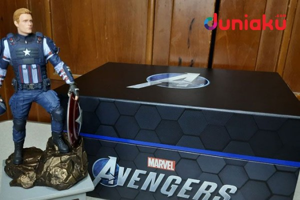 Unboxing Marvel's Avengers Earth's Mightiest Edition PS4!