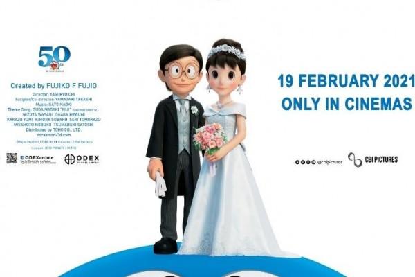Stand By Me Doraemon 2 Akan Tayang Mulai Februari di Bioskop Indonesia