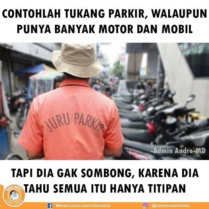 Sering Muncul Tiba-tiba! Ini 10 Meme Tukang Parkir yang Bikin Ngakak!