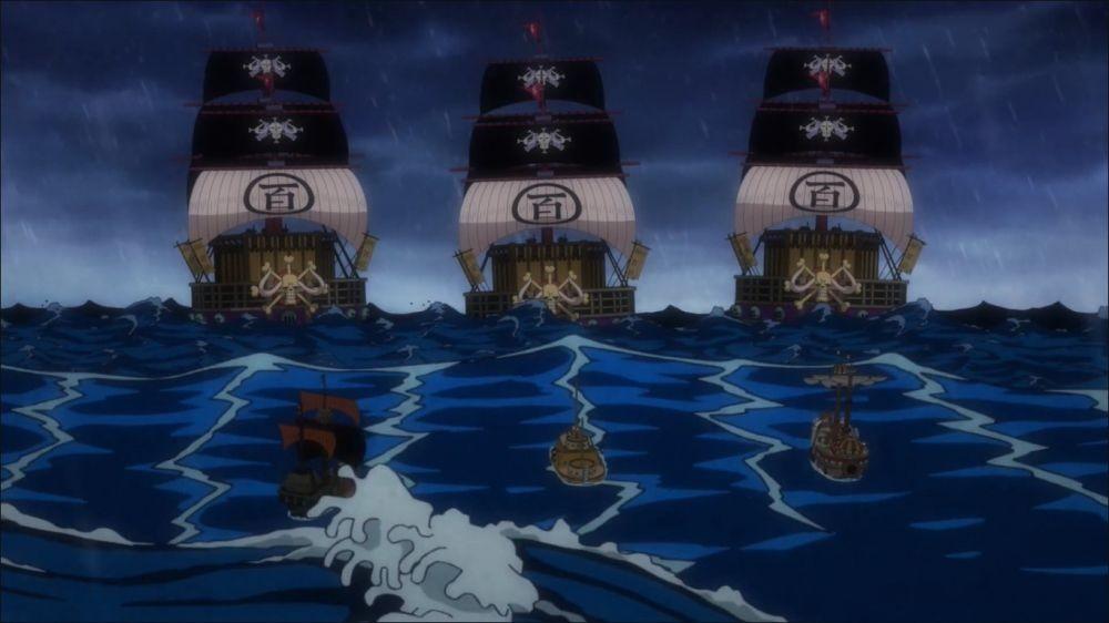 Kemunculan Epik Luffy, Law, dan Kid Tersaji di One Piece Episode 977!