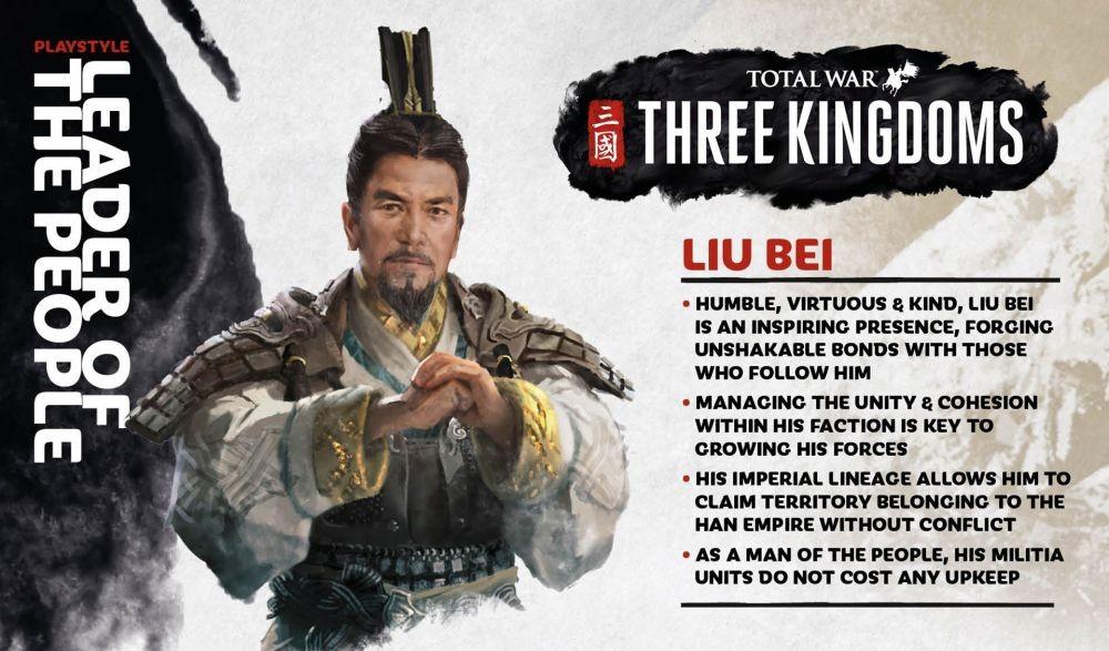 10 Fakta Liu Bei, Penguasa Faksi Shu Era Tiga Kerajaan!