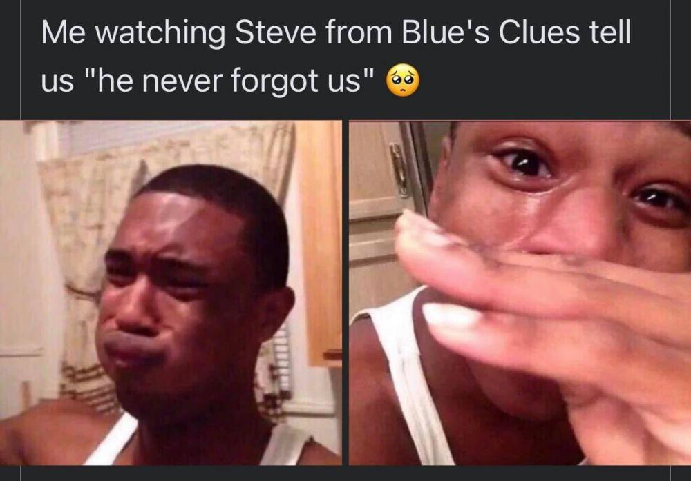 Bikin Pingin Nangis, Inilah 10 Meme dari Pesan Steve Blue's Clues