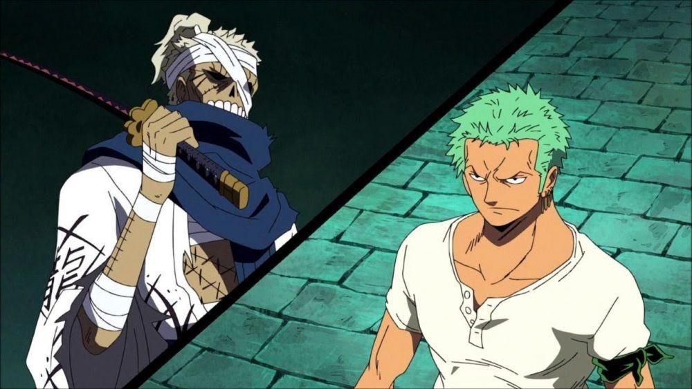 Teori One Piece: Sekuat Apa Zombi Ryuma Kalau Dikasih Bayangan Zoro?
