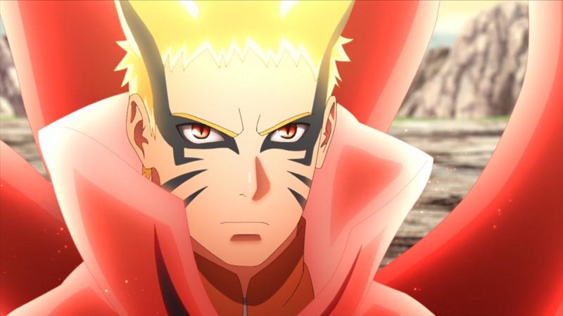 5 Potret Wujud Baryon Mode Naruto Versi Anime! Wujud Terkuat Naruto?