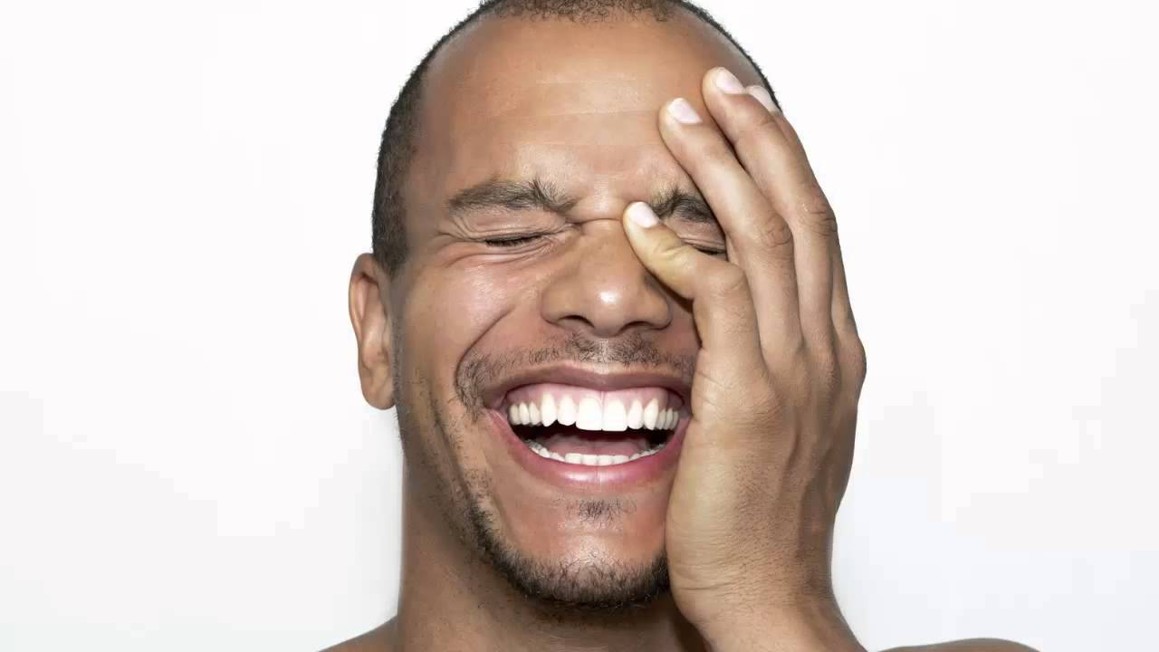 Image result for black man laughing