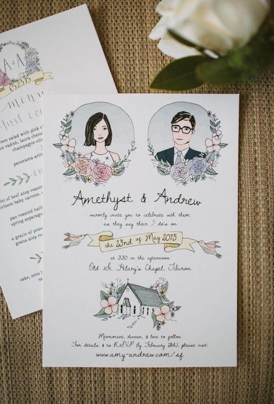 Contoh Undangan Pernikahan Lucu