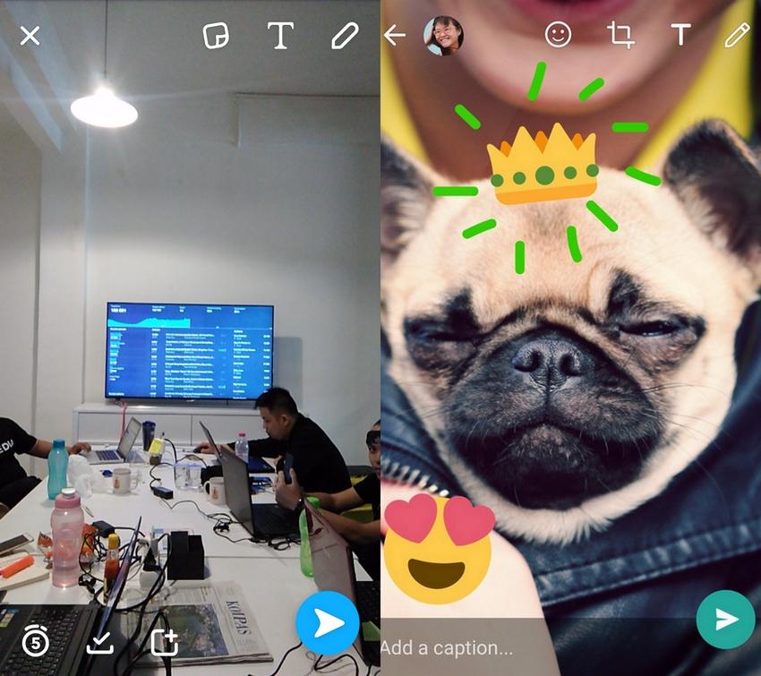 Setelah Instagram, Kini Giliran WhatsApp yang 'Contek' Snapchat