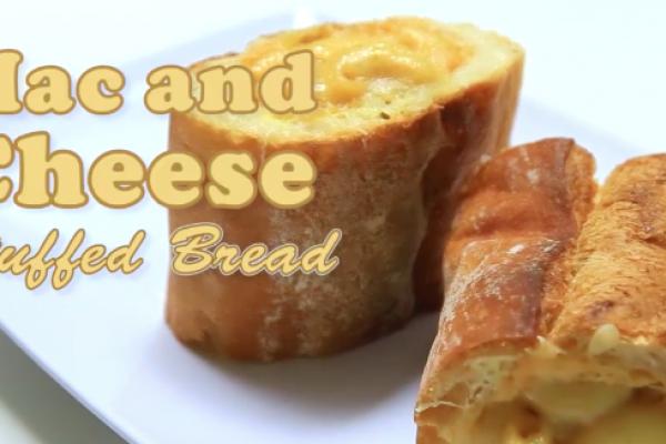 Nikmat Resep Mac And Cheese Stuffed Bread Ini Bikin Ketagihan