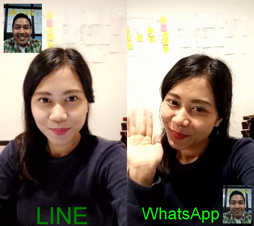 Adu Keunggulan VideoCall WhatsApp VS LINE