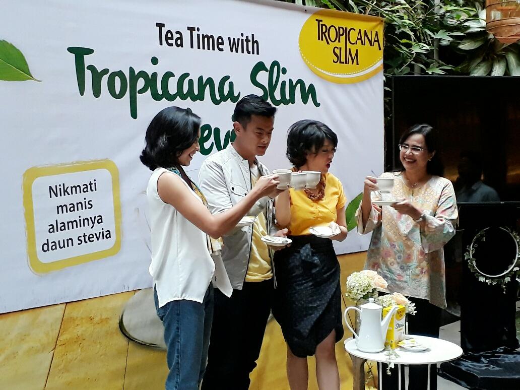 Kenalkan Gula Stevia Pemanis Alami Yang Aman Dikonsumsi Sampai 13 Tropicana Slim Sachet Per Hari