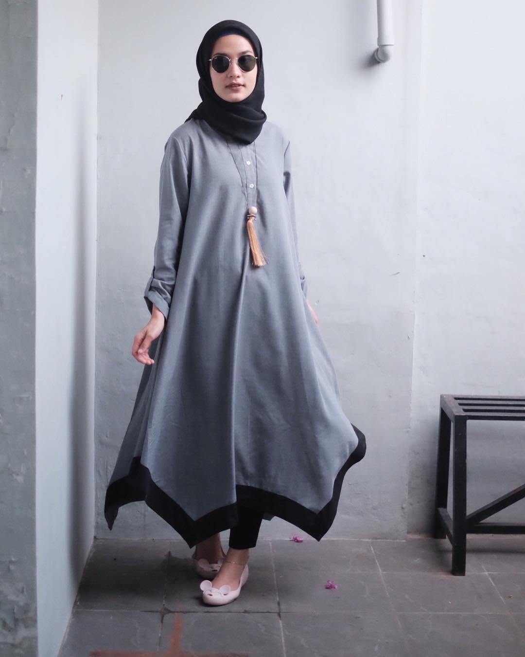 10 Style Hijab Kece Buat Cewek Bertubuh Kurus Mau Tiru