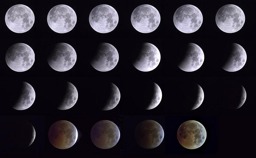Gerhana Bulan Sebagian Akan Nampak 7-8 Agustus 2017 di Indonesia