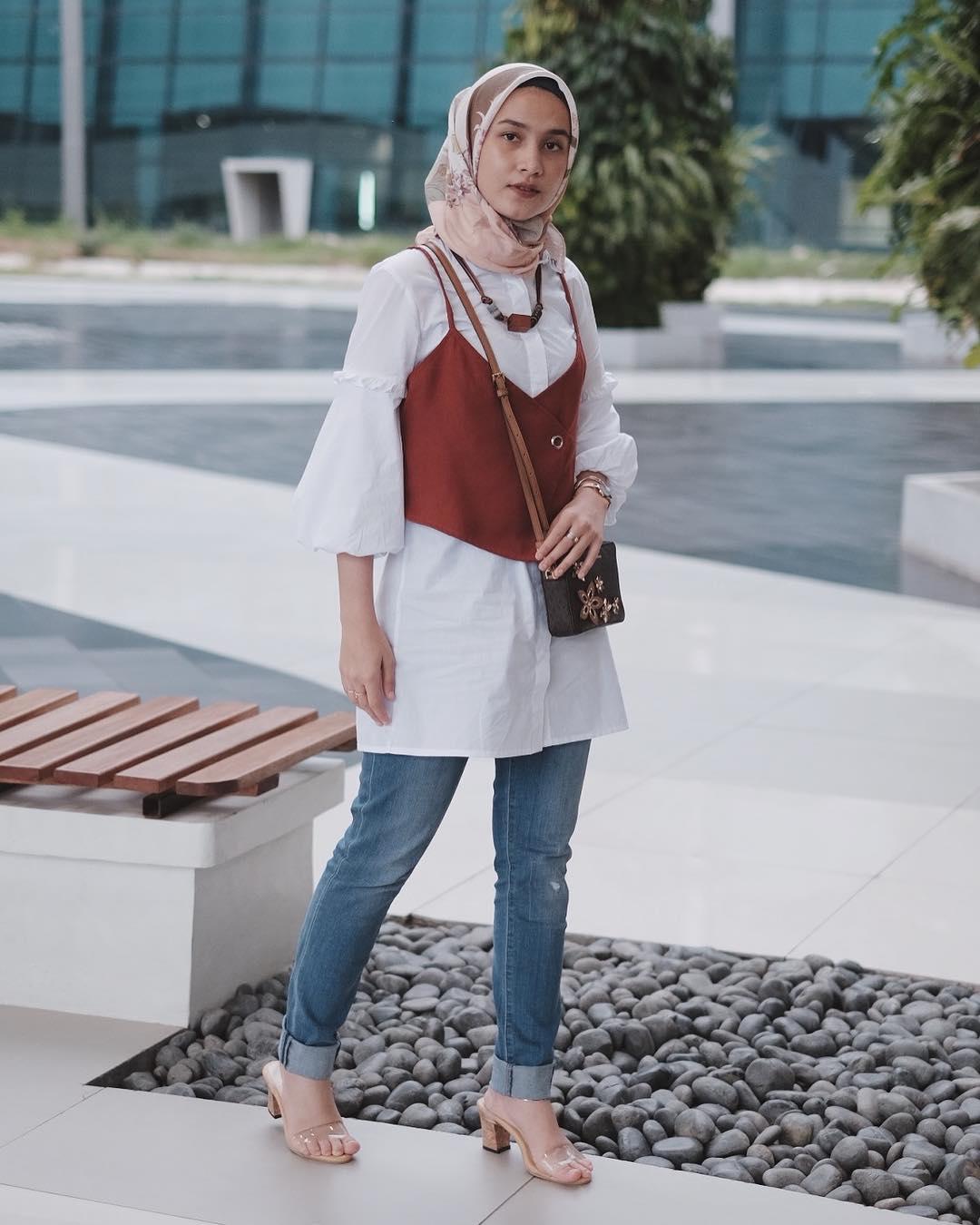 10 Ootd Hijab Kekinian Untuk Kuliah Super Kasual Kece