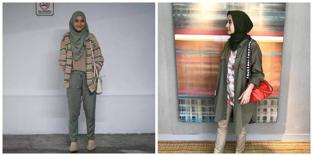 Perbandingan Gaya Hijab Zaskia Mecca vs. Laudya Chintya Bella