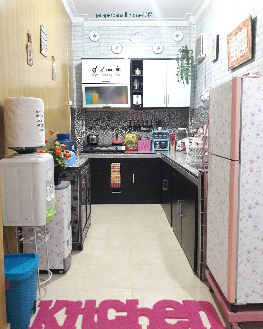 Desain Dapur Dan Tempat Cuci Baju Minimalis   Furniturumah