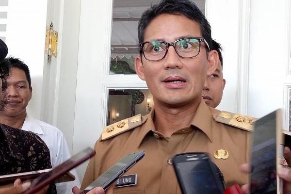 Tidak Terbiasa Gunakan Belt, Ini Komentar Sandiaga Saat Bertemu Jokowi