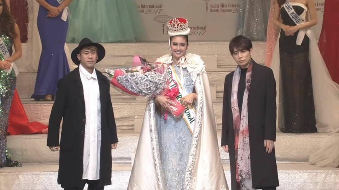Kevin Liliana Bawa Indonesia Jadi Juara 1 Miss International 2017