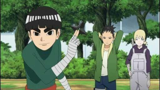 8 Transformasi Rock Lee, Sang Penguasa Taijutsu di Anime Naruto