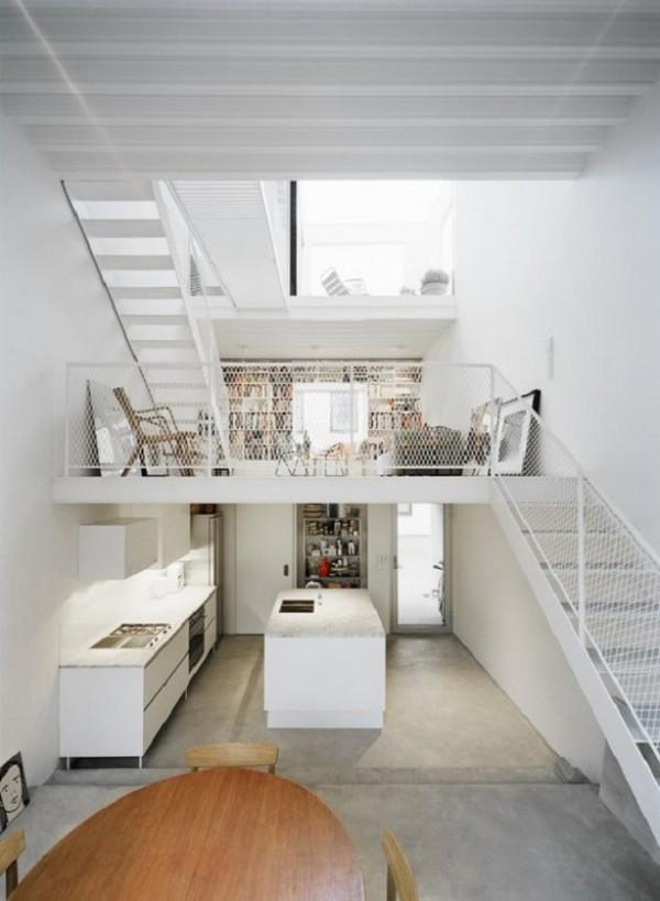 10 Desain Hunian dengan Mezzanine Pas Untuk Rumah Berlahan Kecil & Desain Hunian dengan Mezzanine Pas Untuk Rumah Berlahan Kecil
