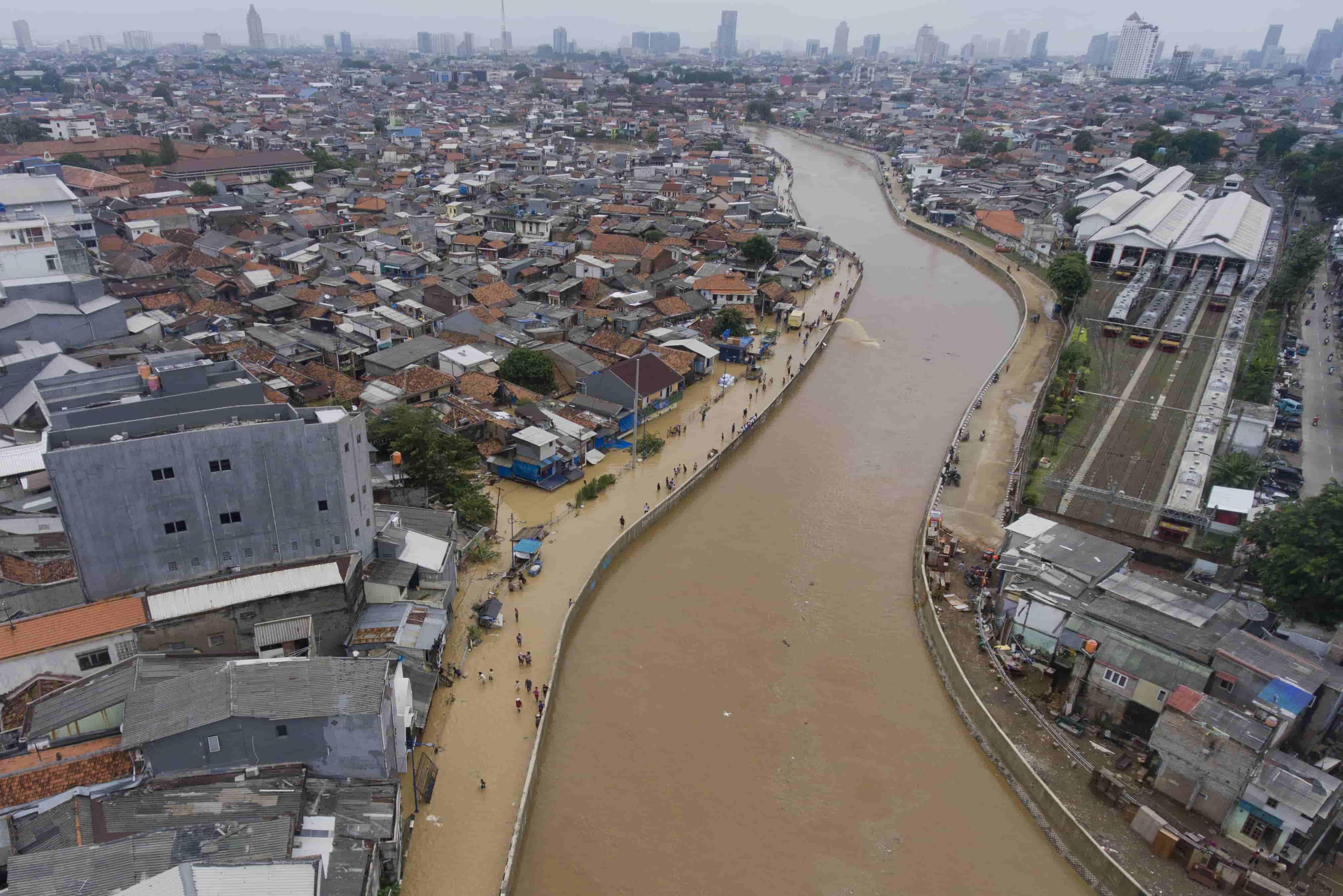 Solusi Banjir Jakarta, Apa Kabar Program Normalisasi Sungai?