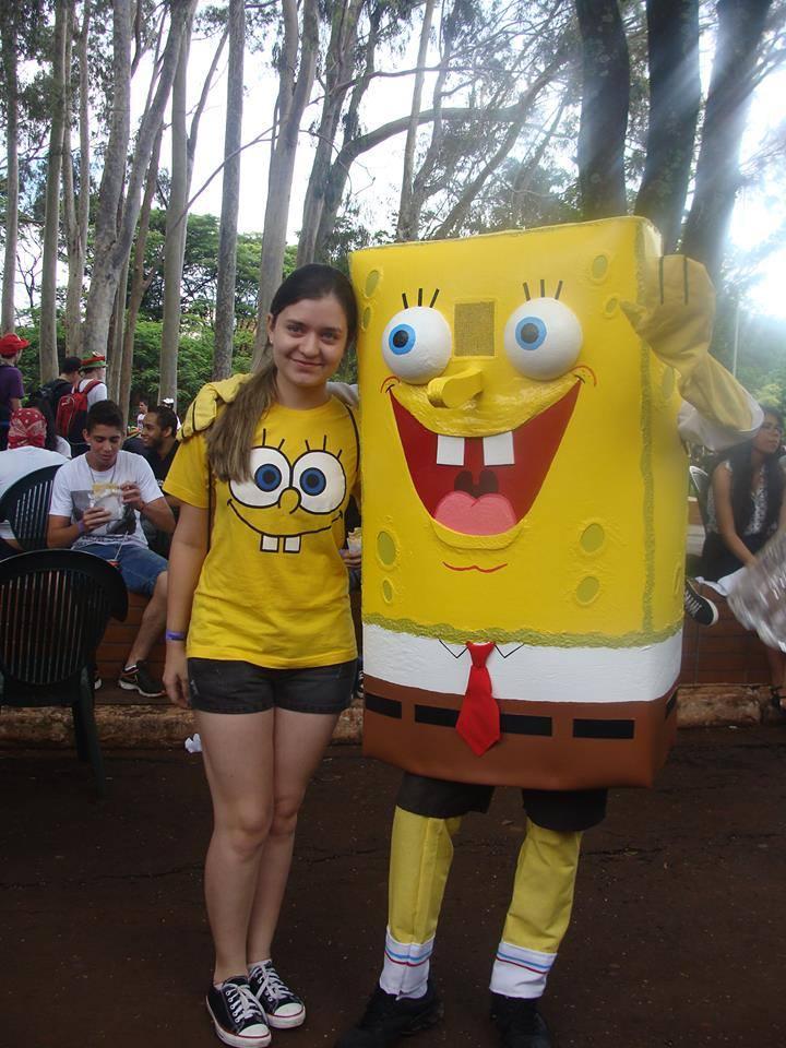 11 Potret Cosplayer Tokoh Spongebob, dari Keren sampai Bikin Ngakak!