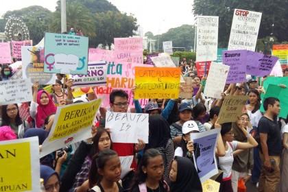 Ini Kata 3 Cowok Millennials yang Ikut Women's March Jakarta 2018