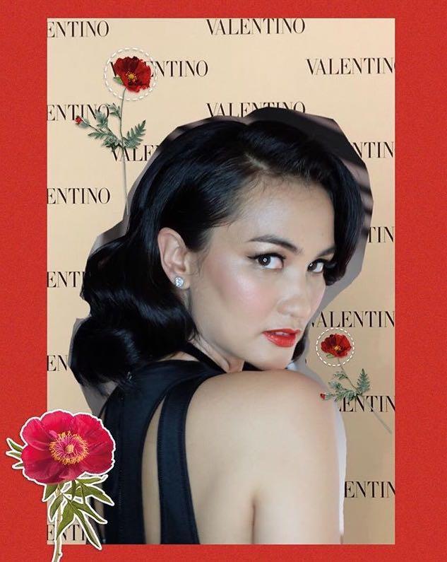 10 Gaya Berkelas Nagita Slavina hingga Vanesha Prescilla di Acara Valentino