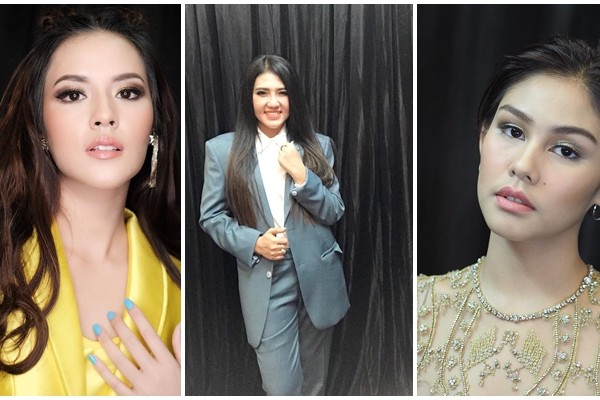 11 Gaya Kece Raisa Hingga Via Vallen di Indonesian Choice Awards NET 5.0 3619a2ce3a