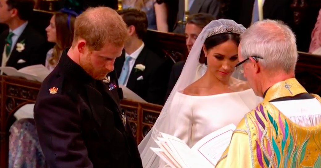 15 Momen Haru Royal Wedding Pangeran Harry dan Meghan Markle