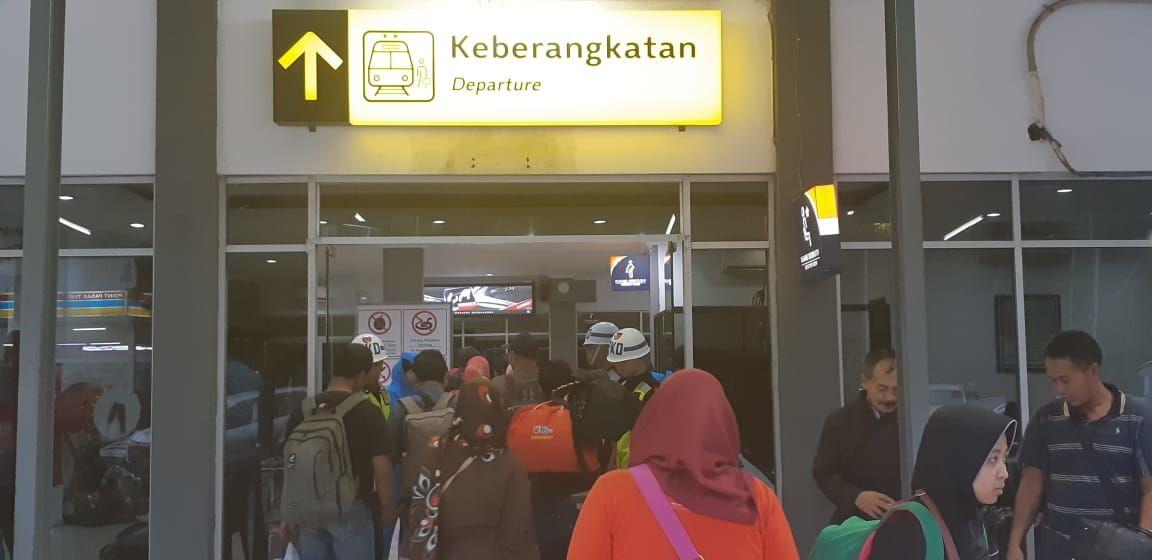 H-2 Lebaran, 40 ribu Pemudik Berangkat dari Stasiun Pasar
