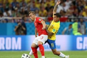 Babak Pertama: Brasil Unggul atas Swiss dengan Skor 1-0