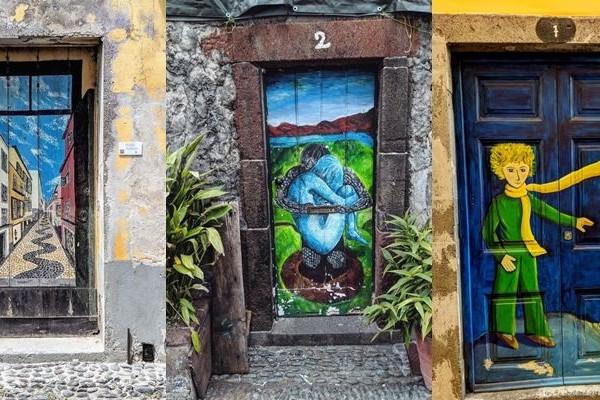 Kota Ini Sulap Pintu Biasa Jadi Karya Super Keren, Betah Lihatnya