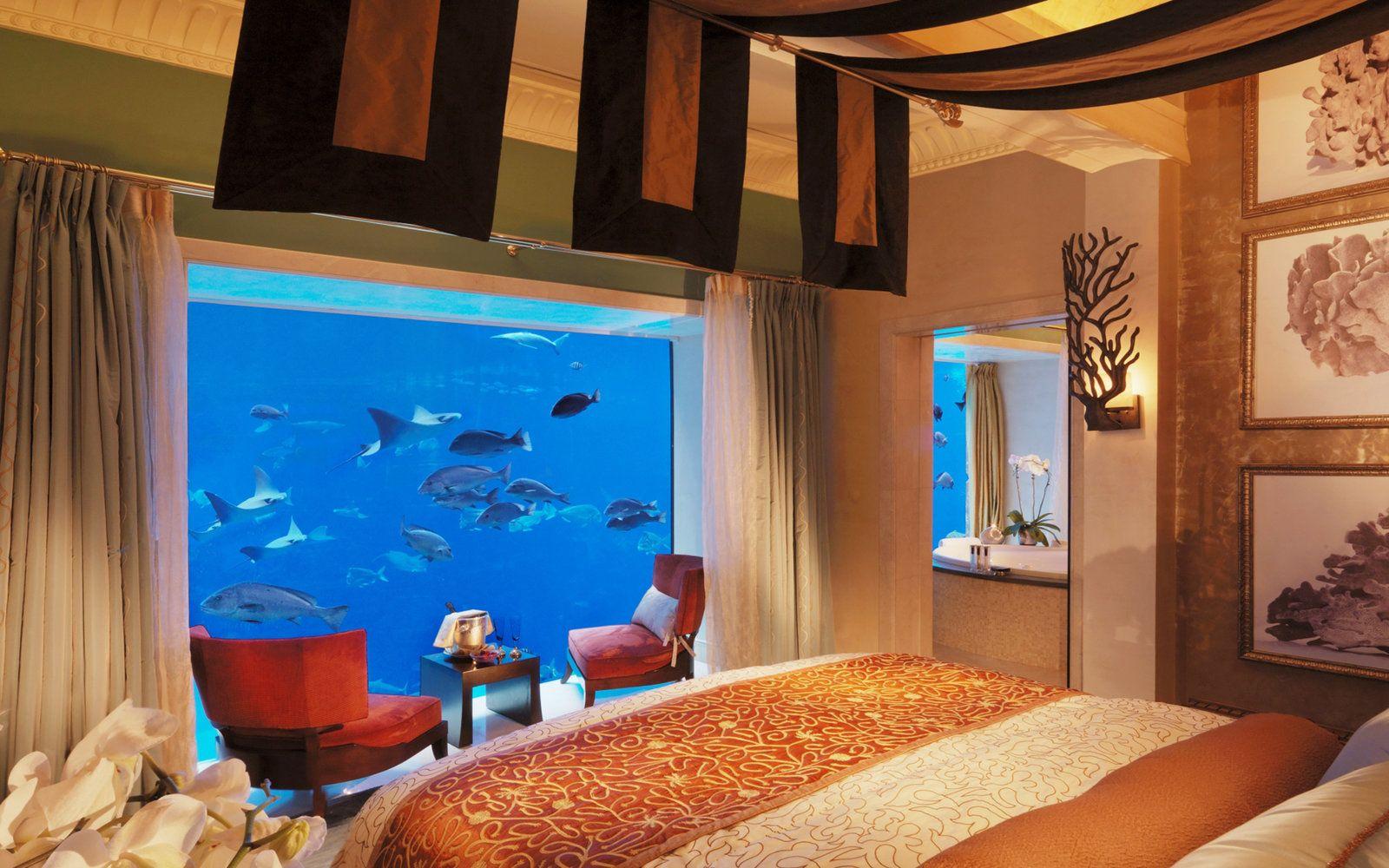 5 Hotel Mewah Super Keren Ini Berada di Bawah Laut, Berani Menginap?