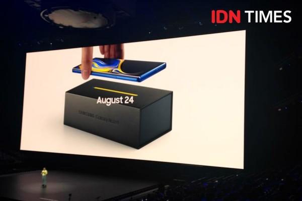 Hands-on Samsung Galaxy Note 9: Harga dan Spesifikasi