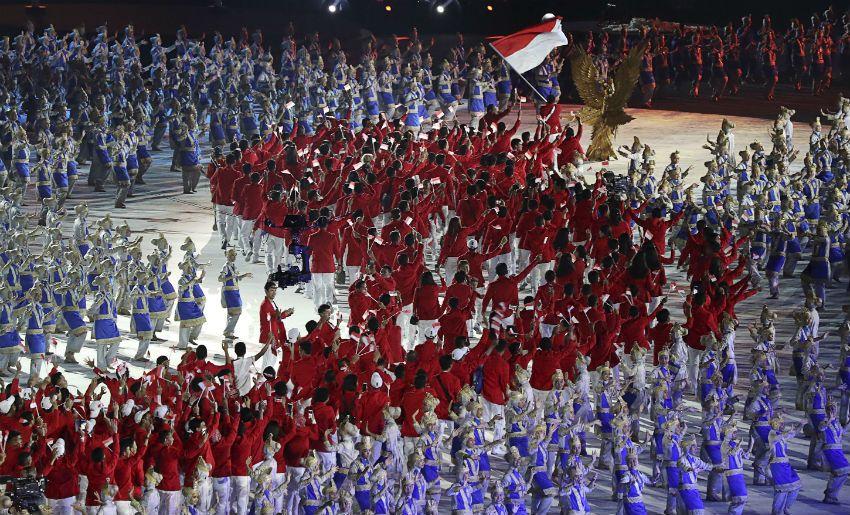 8 Momen Menakjubkan di Opening Ceremony Asian Games 2018