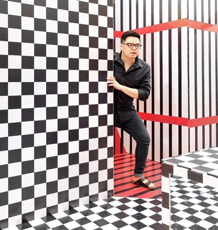 10 Potret Unik Labyrinth of Colors, Gak Kalah Kece dari Museum MACAN