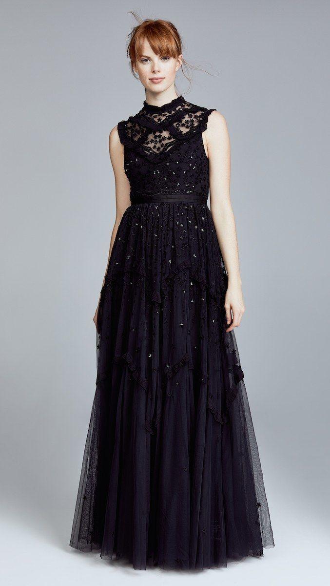 10 Wedding Dress Warna Hitam