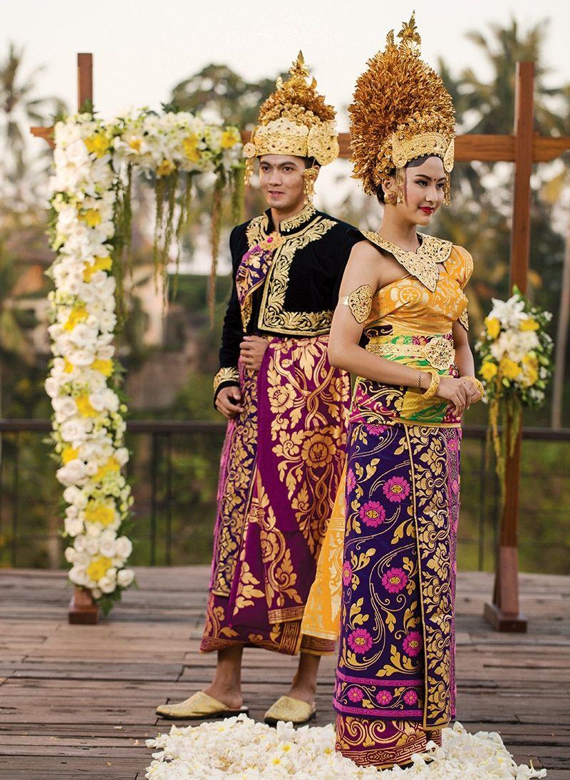 10 Baju Pernikahan Adat Bali