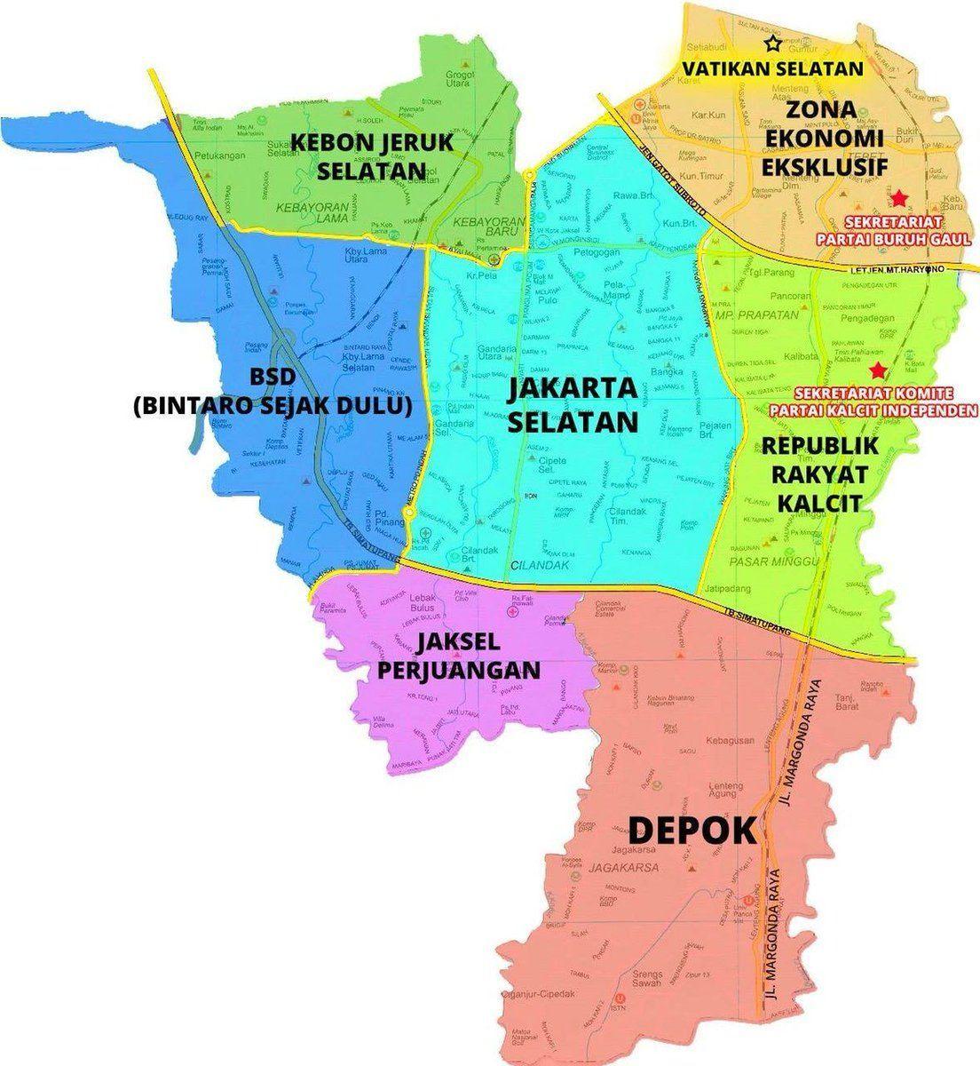 Dari Jakarta Hingga Surabaya, 11 Meme Peta Indonesia yang Bikin Ngakak