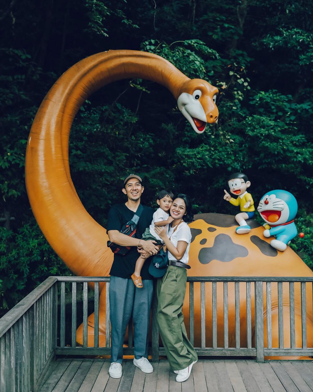 10 Potret Bahagia Keluarga Andien Liburan ke Jepang, Hits Banget!