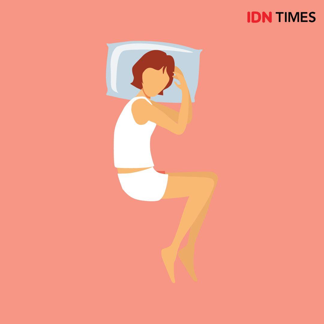 Biar Gak Sakit Punggung, 5 Posisi Tidur yang Nyaman untuk Tubuh