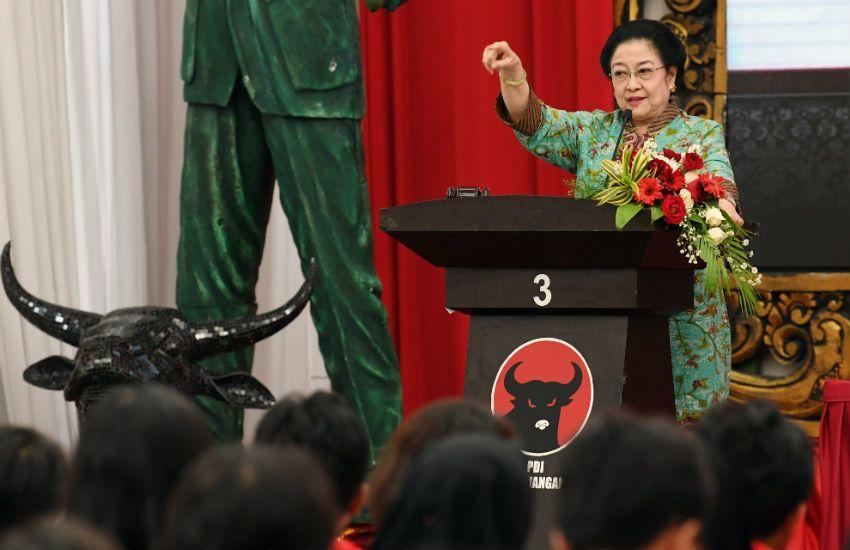 Megawati: Penyebar Berita Kebencian Tidak Bisa Kontrol Otak