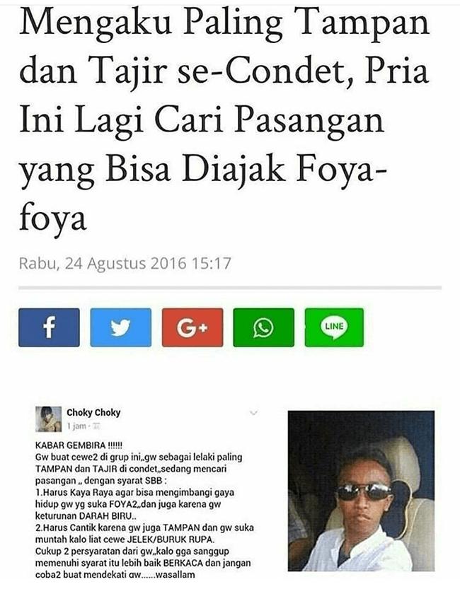 Status Mau Pamer di Medsos Ini Malah Bikin Ngakak, Sombong Dulu Eksis Kemudian!
