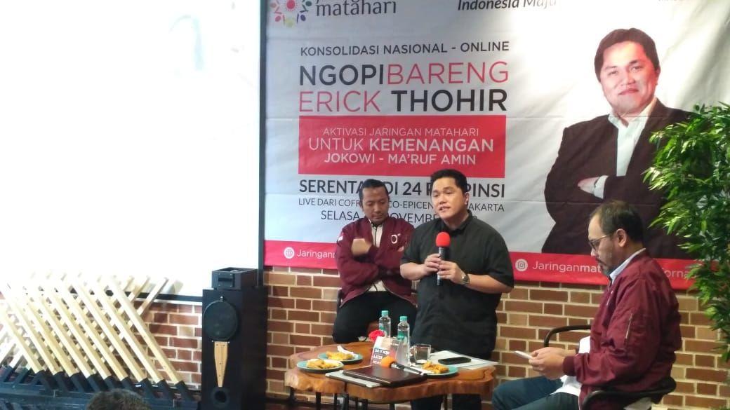 Erick Thohir: Media di Indonesia Transparan dan Objektif