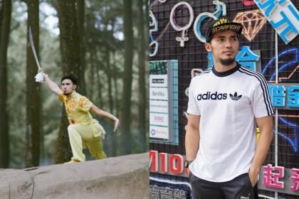 10 Gaya Kece Achmad Hulaefi, Atlet yang Berhasil Pikat Lindswell Kwok