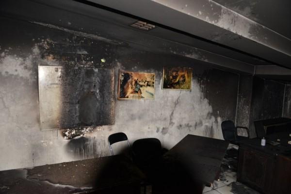 Polisi Selidiki Penyebab Kebakaran Ruang Wartawan Kantor DPRD Makassar