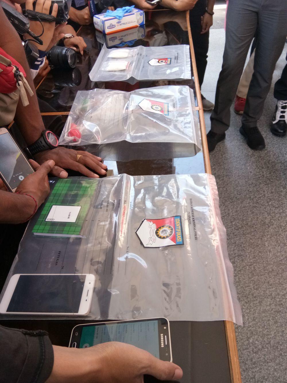 Polisi Sinyalir Ada Keterkaitan Narkotika dan Kasus Begal di Makassar