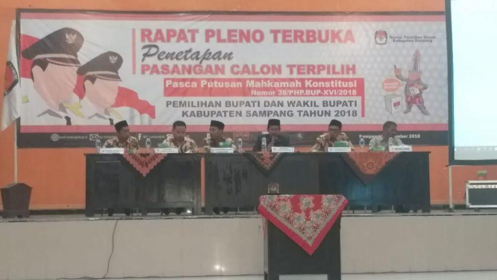 Selangkah Lagi Slamet Junaidi-Abdullah Hidayat Resmi Pimpin Sampang