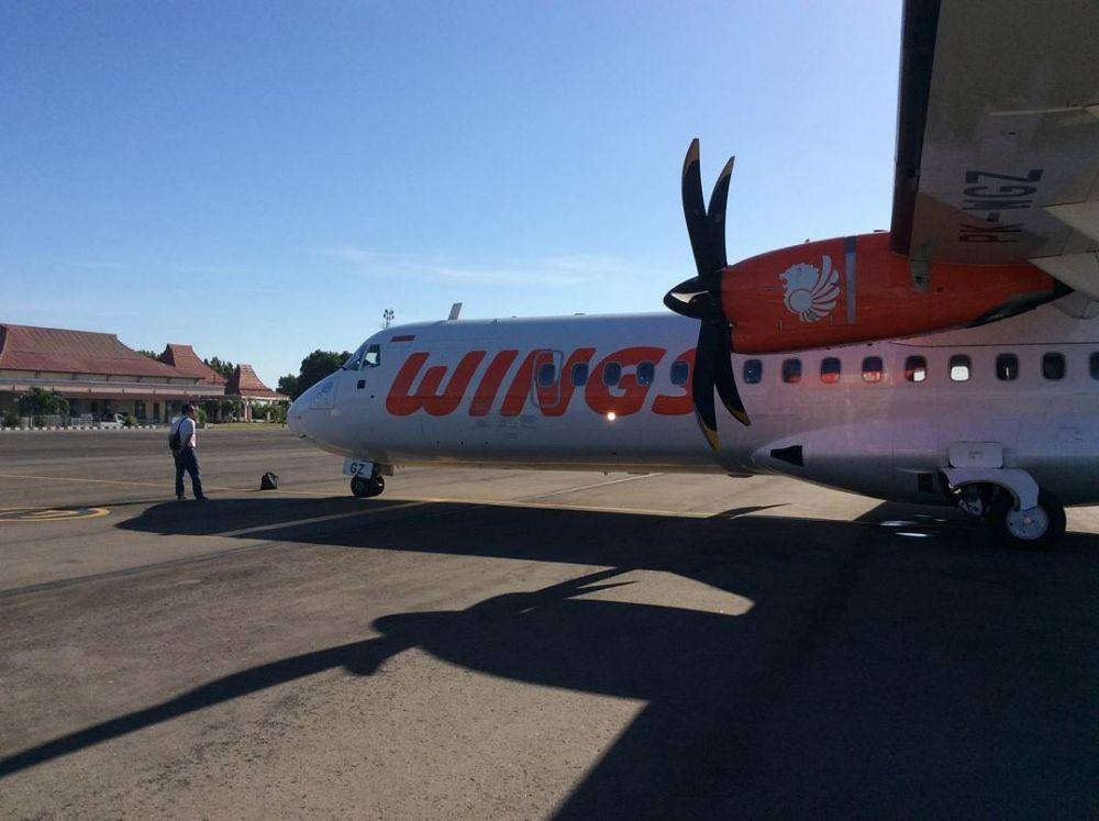 Diduga Alami Kebocoran, Wings Air Tujuan Bima Putar Balik ke Lombok