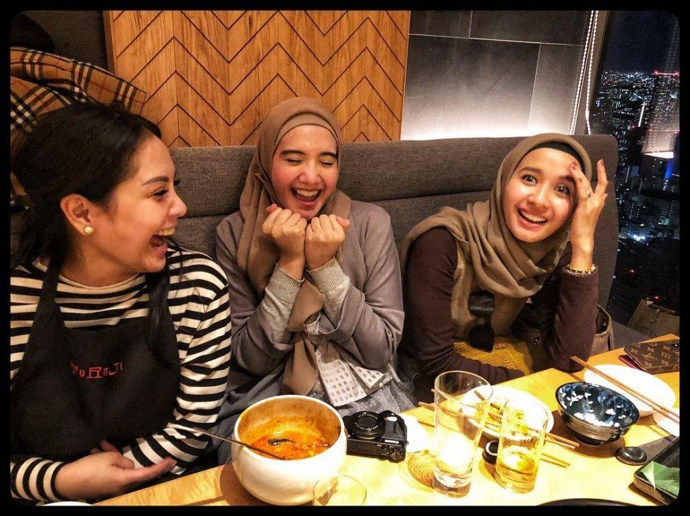 Sering Collab Bareng, 10 Potret Persahabatan Bella, Nagita, dan Zaskia